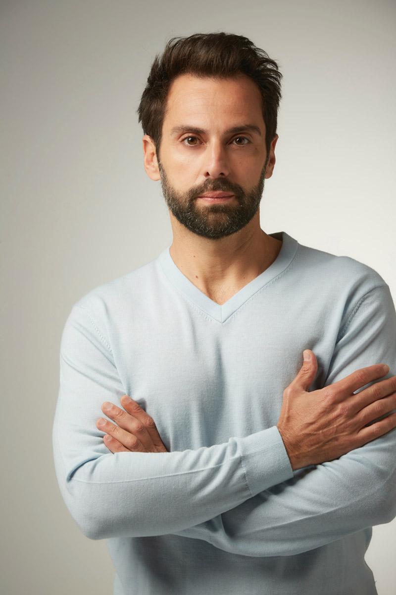 Carlo D' Ursi actor italiano en Madrid, España